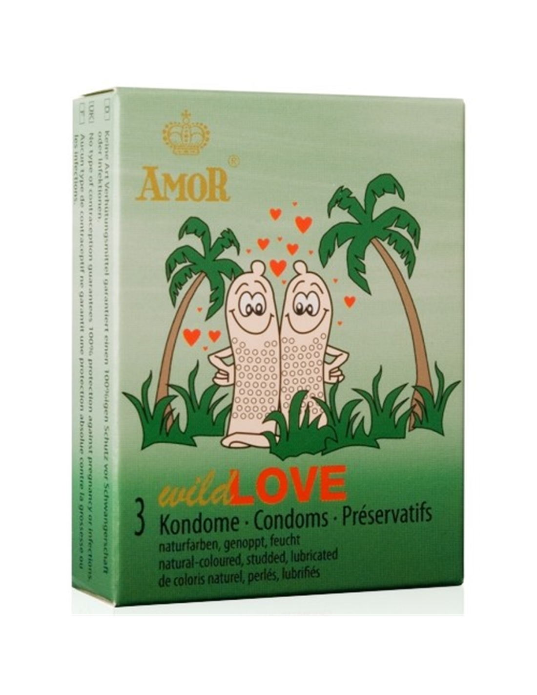 Preservativos Wild Love - 3 Unidades - PR2010323560