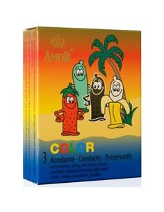 Preservativos Color - 3 Unidades - PR2010323554