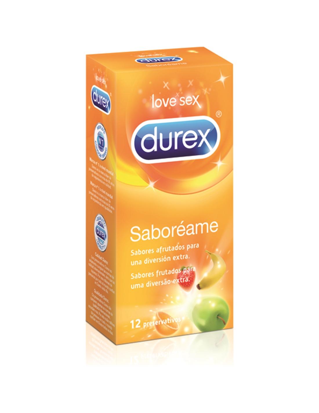 Preservativos Durex Saboreia-Me - 12 Unidades - PR2010313034