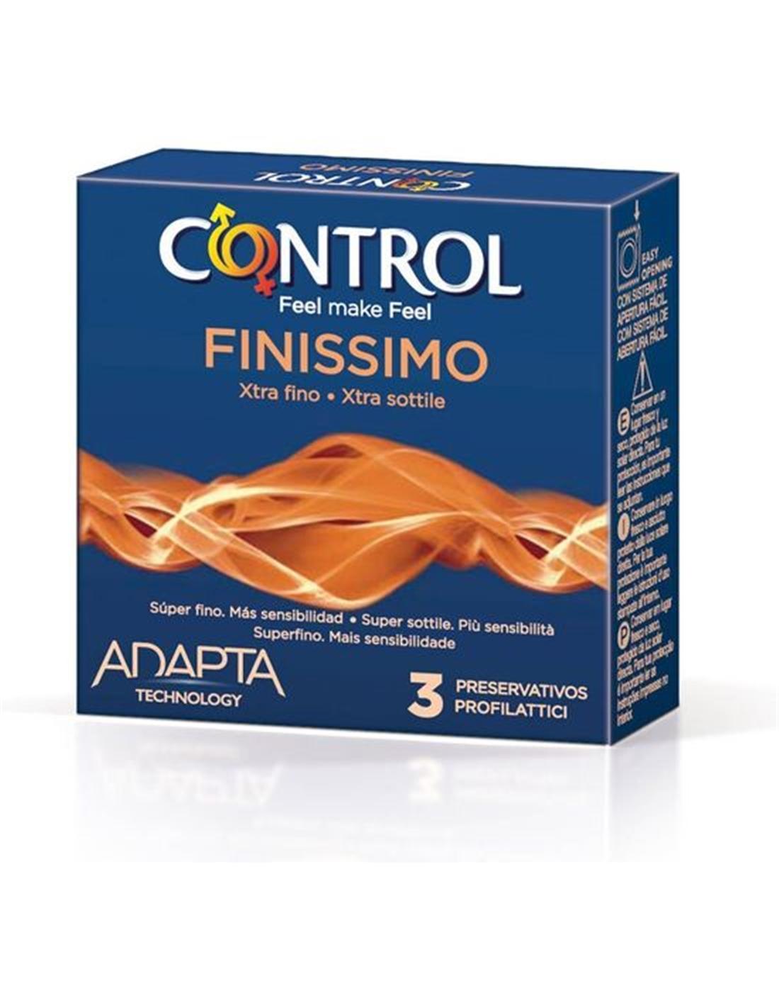 Preservativos Control Finissimo 3Uds - PR2010348156